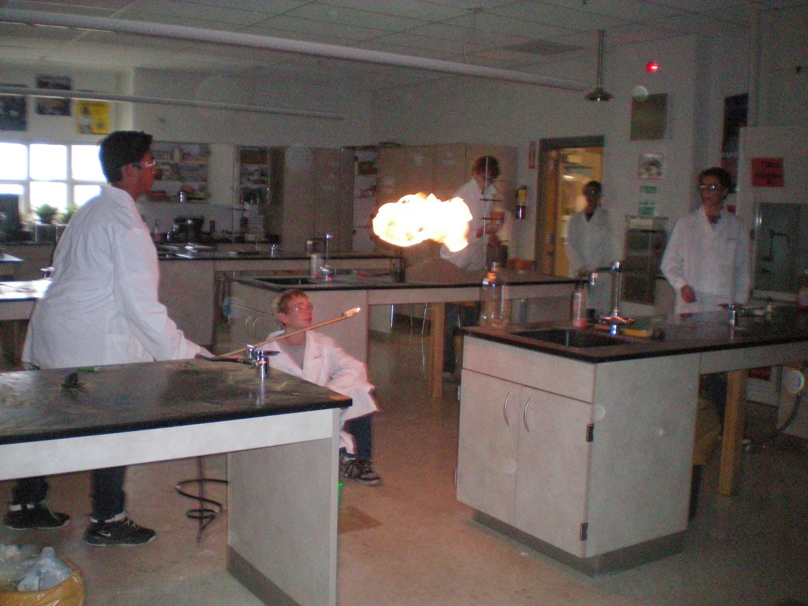 Northridge High Chemistry January