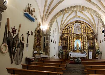 Ermita Virgen del Mar. Costa Quebrada. Cantabria