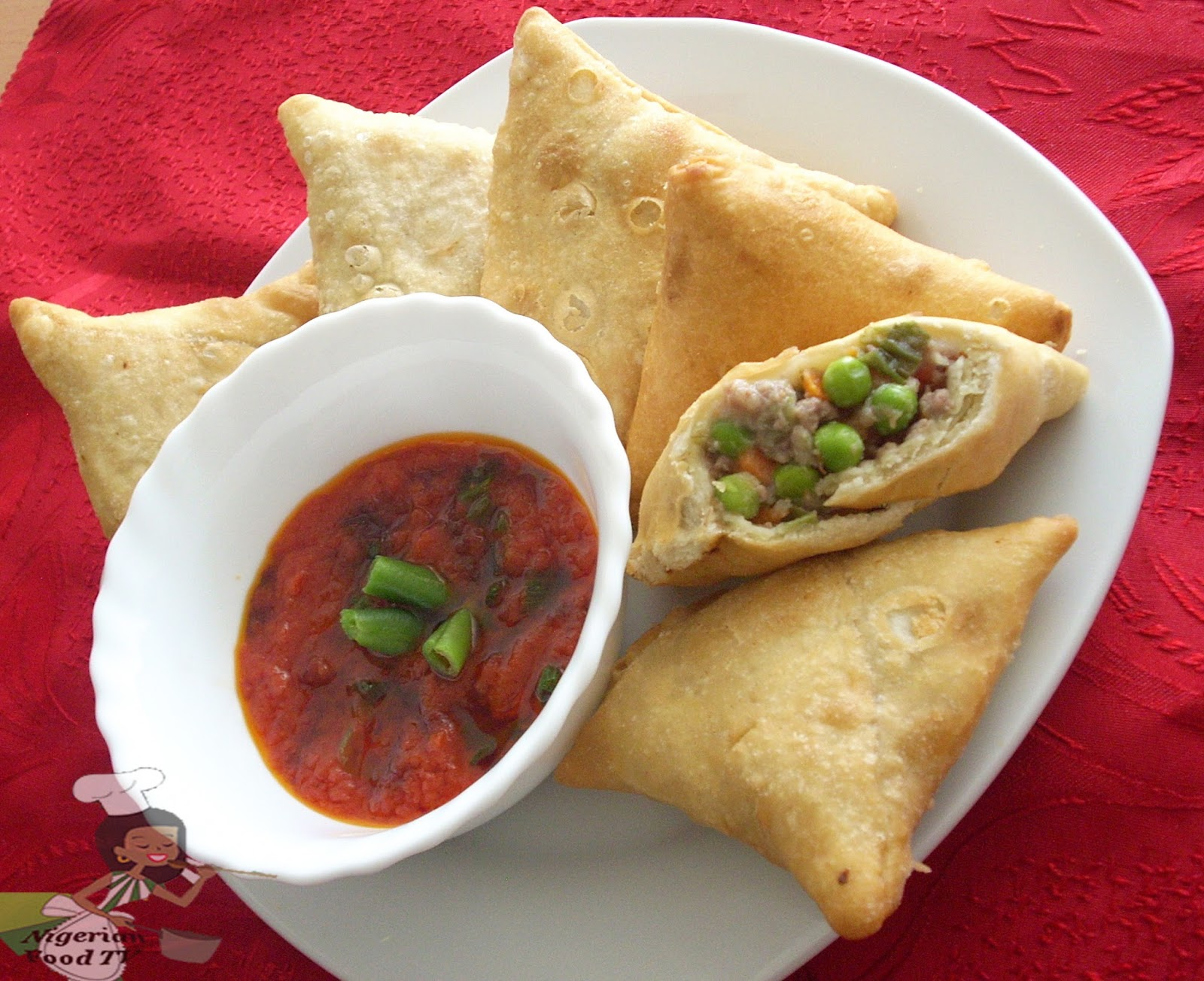How to make Nigerian Samosa, Nigerian Samosa