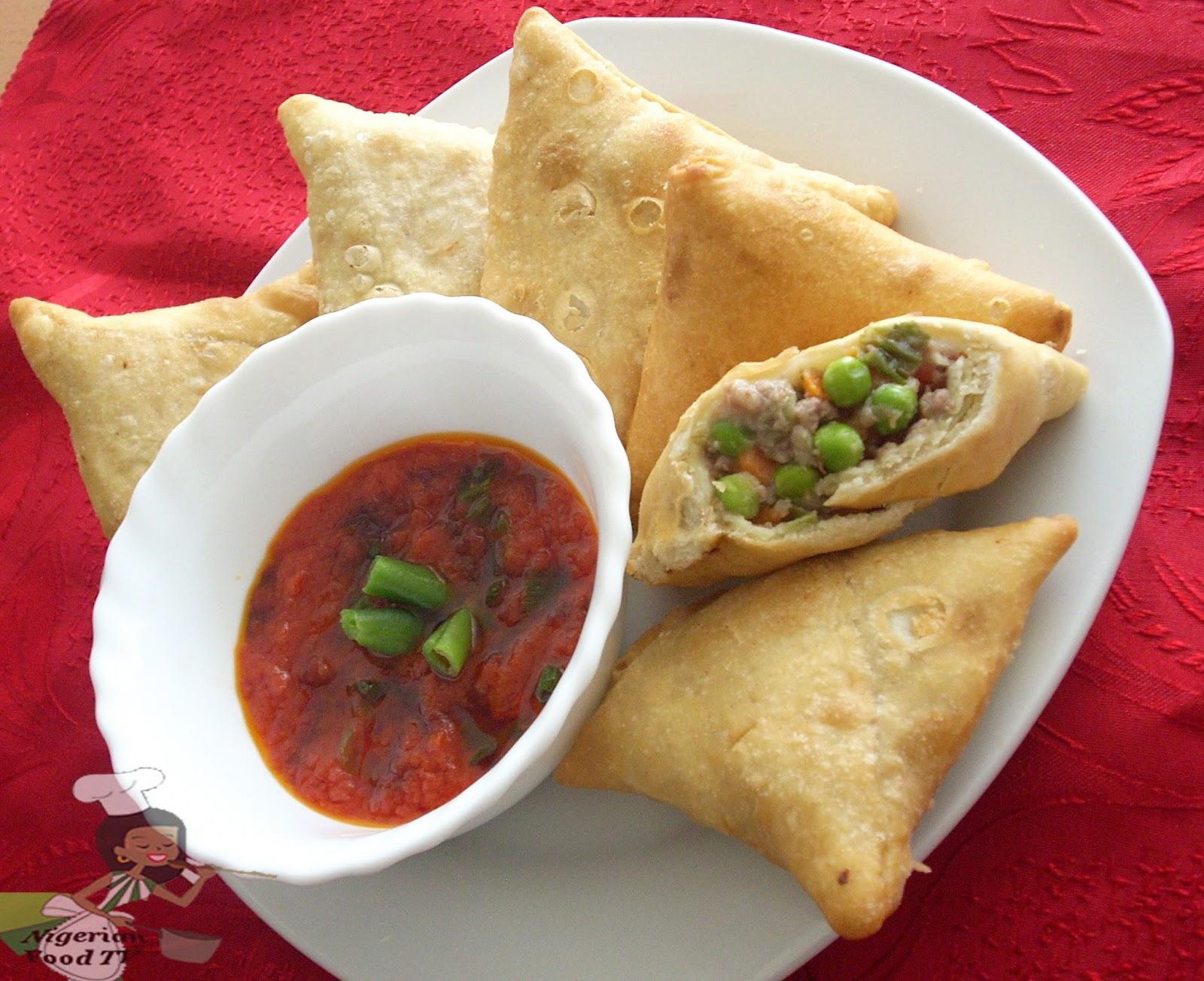 Nigerian Samosa How To Make Nigerian Samosa Baked And Fried Recipe Provided