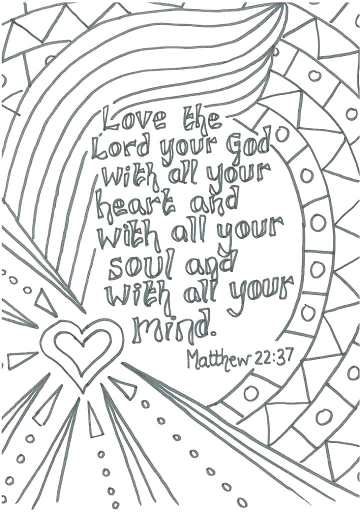 Coloring Store: Valentine coloring sheets christian