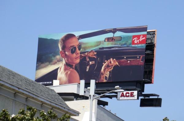 Austin Kellogg RayBan S18 billboard