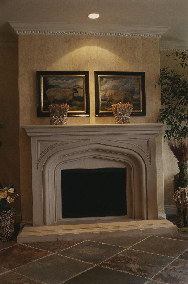Custom Fireplace Mantel: Fireplace Mantels -Custom Made ...