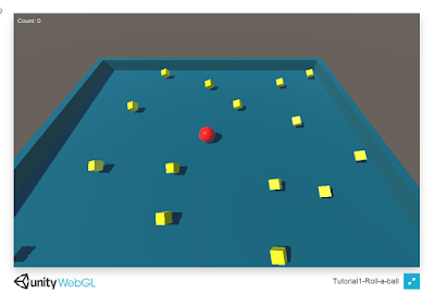 Silvolution: [Unity 3D] Tutorial 1: Roll a ball