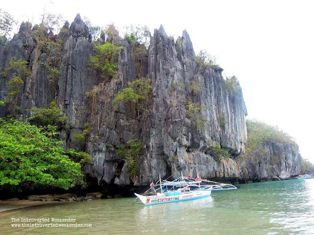 Karst limestones in Palawan