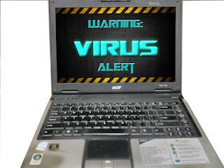cara menghindari serangan virus komputer