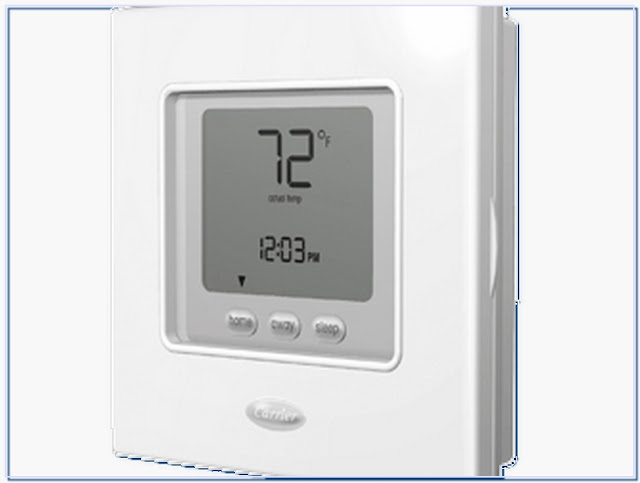 Carrier thermostat model number