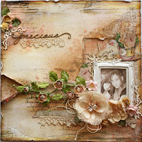 """Precious"" VIDEO TUTORIAL available at The Scrapbook Diaries"