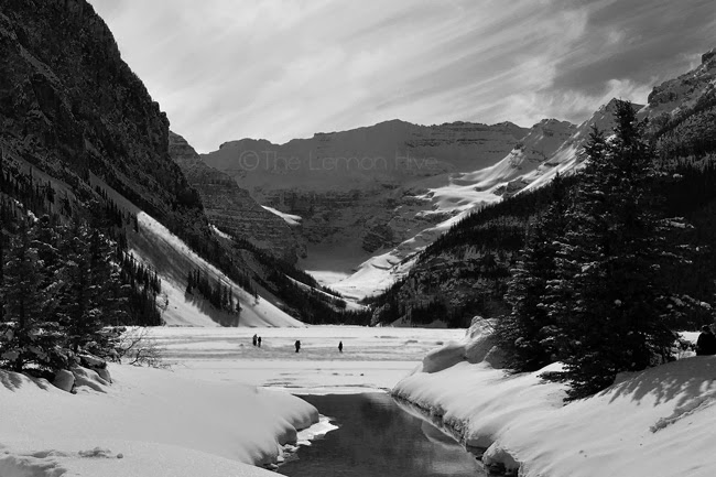 Lake Louise Alberta Slow melt