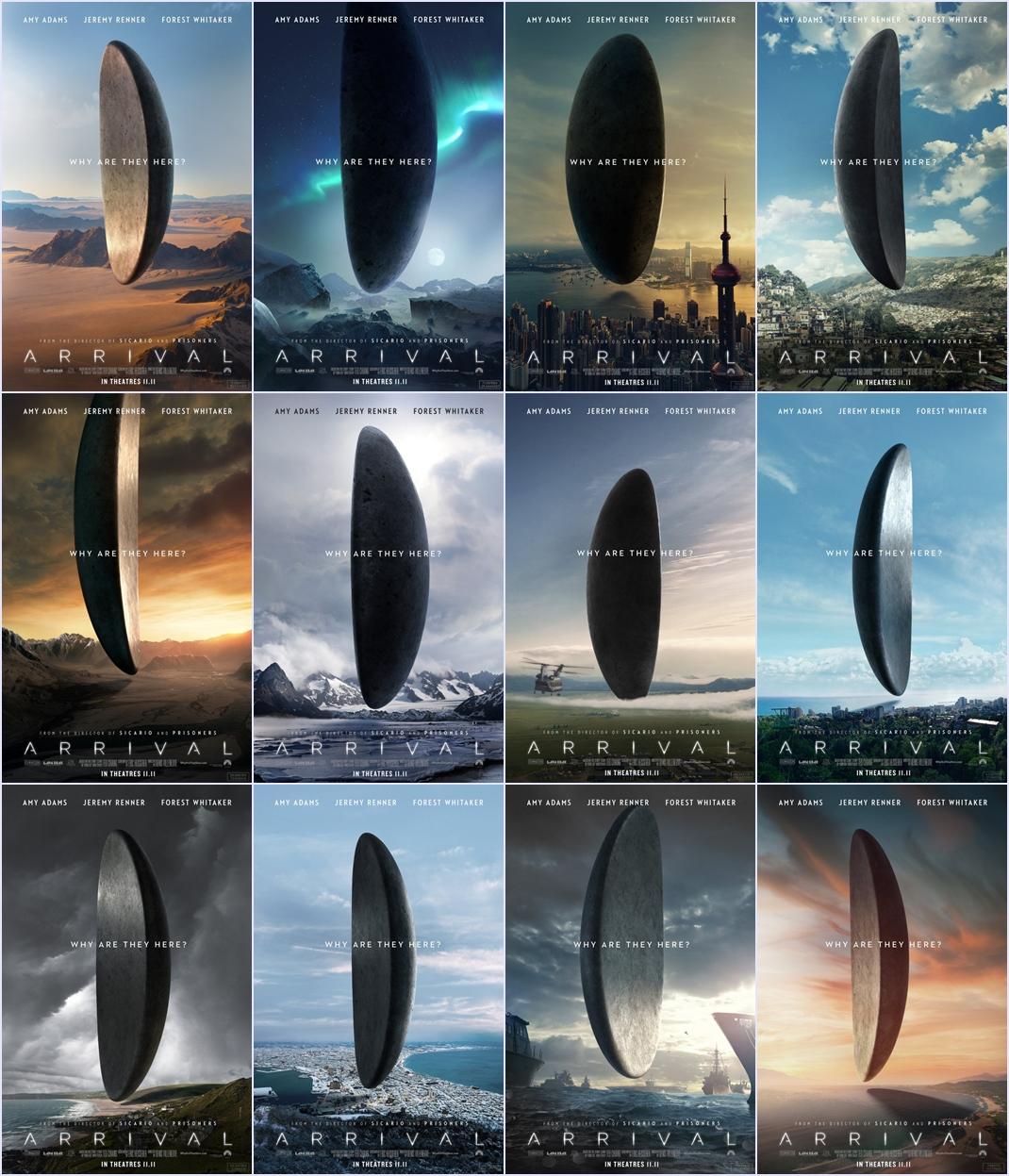 ตัวอย่างหนังใหม่ : Arrival (ผู้มาเยือน) ซับไทย poster mixed