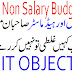 School Non Salary Budget NSB and Deduction of Taxes PMIU and PESRP School Education Department Punjab