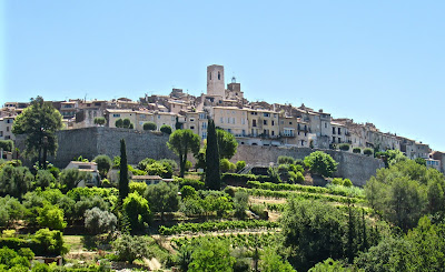 View of Saint-Paul-de-Vence