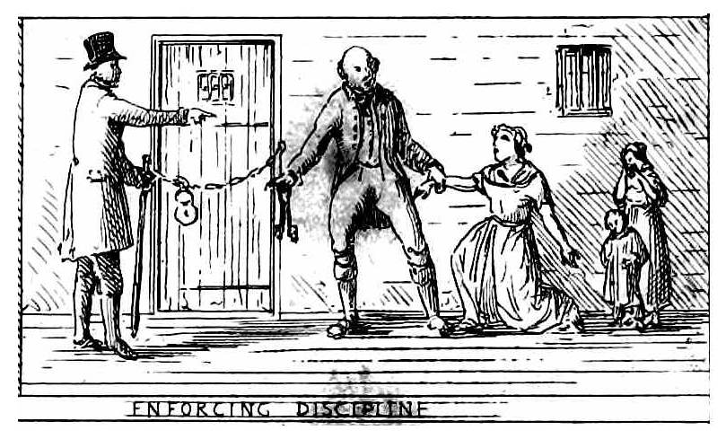 1841 poor house enforcing discipline