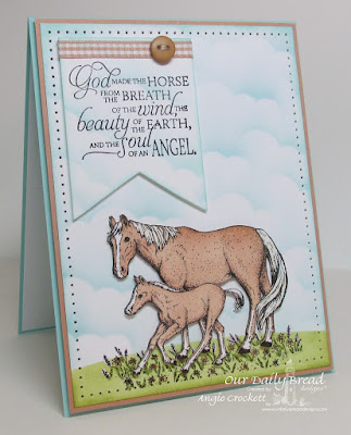 ODBD Saddle Up, Card Designer Angie Crockett