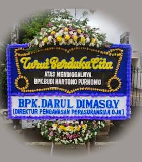 Bunga Papan Ucapan duka Cita Jakarta Utara