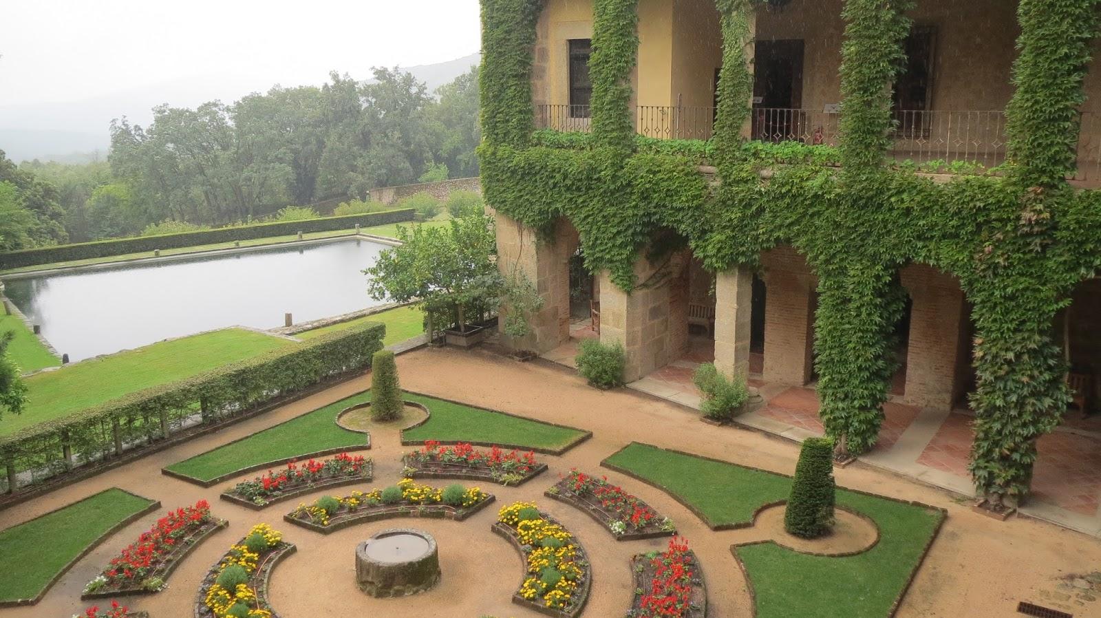 hortibus voyage palais et jardins prives d 39 espagne vmf 27. Black Bedroom Furniture Sets. Home Design Ideas