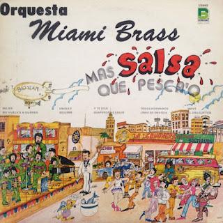 MAS SALSA QUE PESCAO - ORQUESTA MIAMI BRASS (1975)