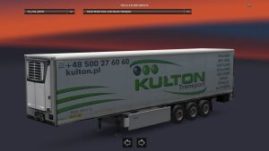 Cool Liner Kulton Transport Trailer