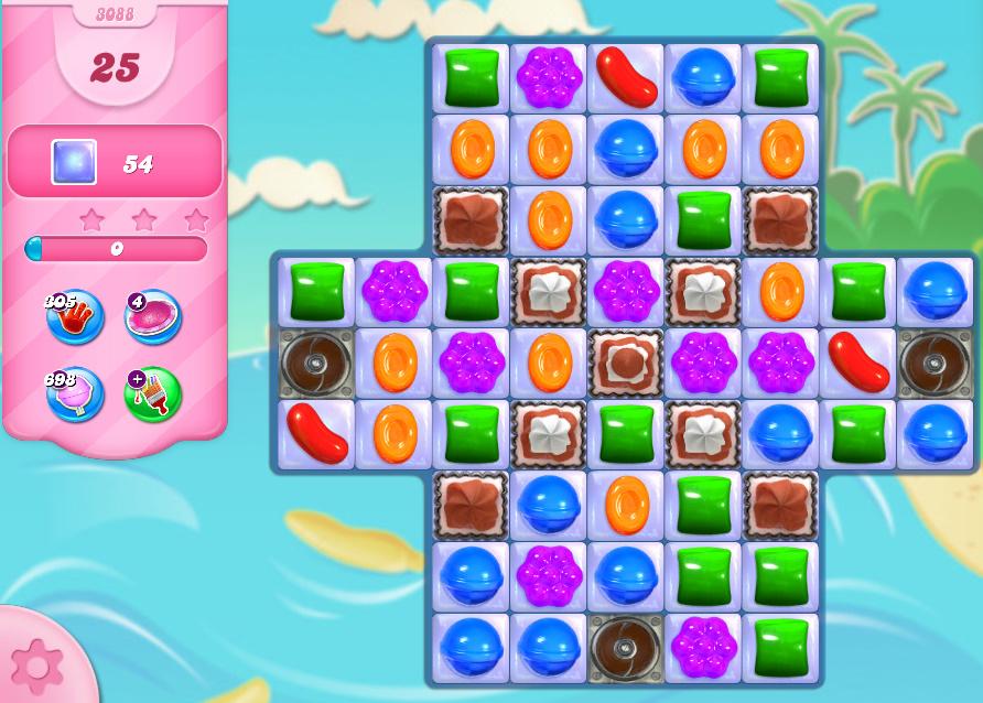 Candy Crush Saga level 3088