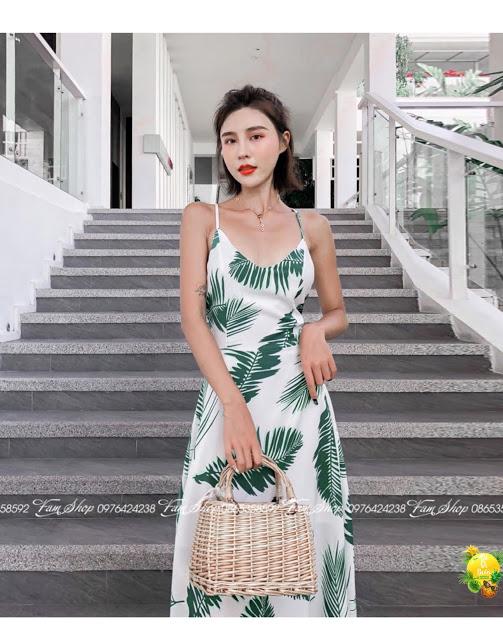 Cua hang ban vay maxi di bien o Nhat Tan