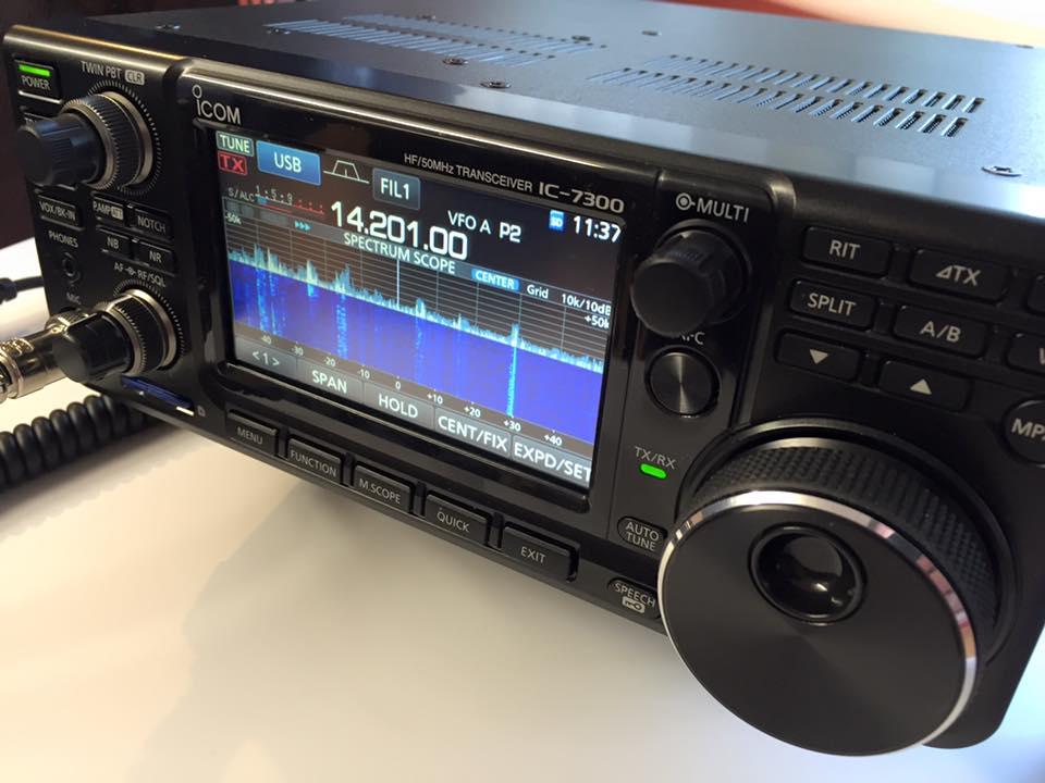 icom 7300   Radioamateur ch