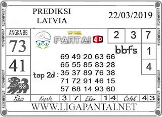 """Prediksi Togel """"LATVIA"""" PANTAI4D 22 MARET 2019"""