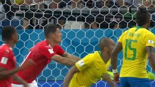 Em jogo roubado, Brasil empata com a Suíça na estreia