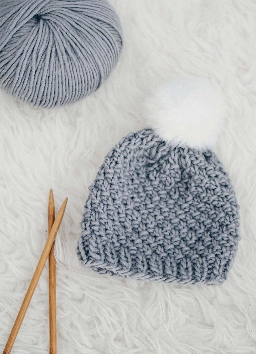 545db8908d7 good knit baby hat pattern seed stitch f8126 43615