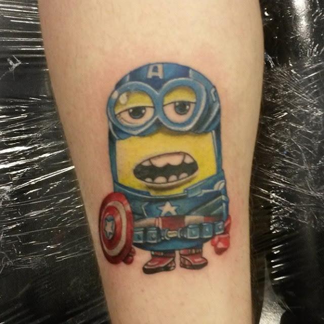 Tatuagens dos Minions