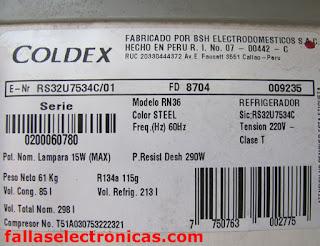 nevera RN 36 coldex se llena de hielo en el freezer