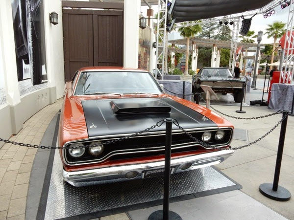 1970 Roadrunner film car Furious 7