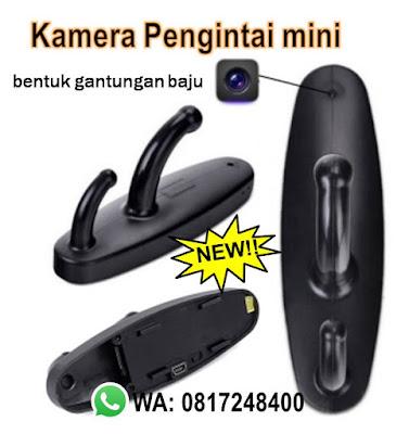 kamera mini gantungan baju, kamea pengintai mini, spy cam hook, kamera pengintai gantungan baju, mini camera, kamera cctv,