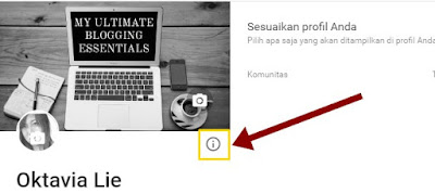 Oktavialie: Cara Membuat Widget Author Box di Bawah Posting