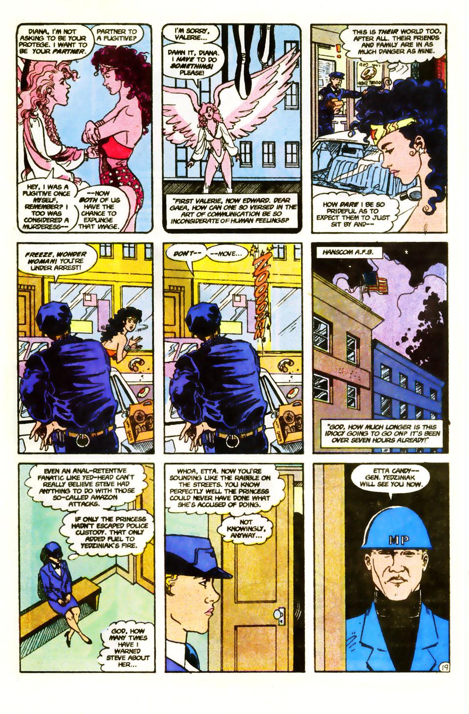 Read online Wonder Woman (1987) comic -  Issue #59 - 21