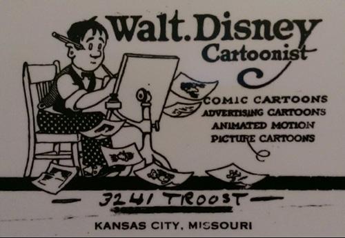 Disney Studios Business Card
