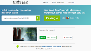 menu download youtube dengan ss