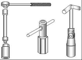 Kunci Busi (SparkPlug Socket).