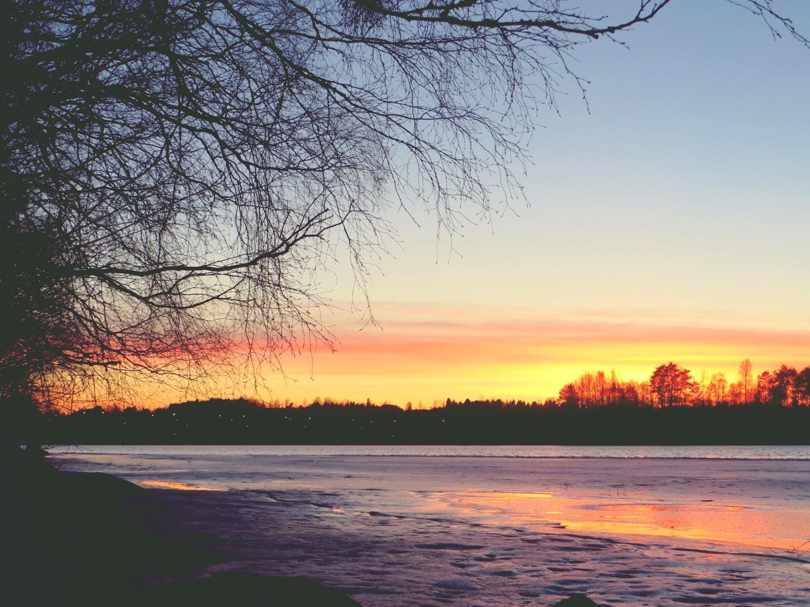 auringonlasku, sunset, Ikaalinen, Kyrösjärvi, auringonlasku Kyrösjärvellä, auringonlasku Ikaalisissa, upea auringonlasku