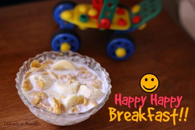 Happy happy breakfast