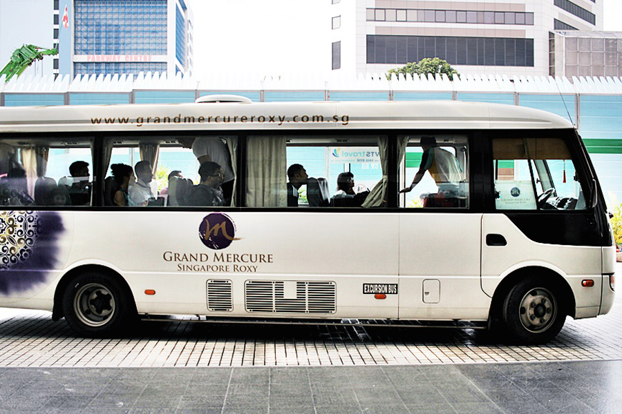 FREE AIRPORT SHUTTLE MERCURE SINGAPORE
