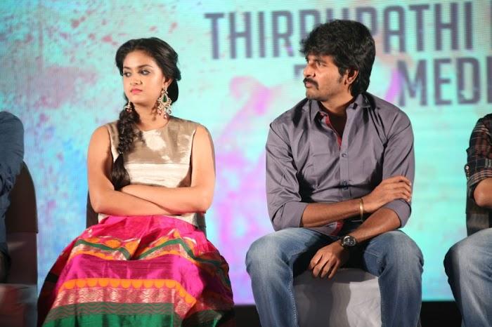Keerthi suresh Hot Stills in Rajinimurugan romance with Sivakarthikeyan