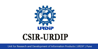 Unit for Research and Development of Information Products ( URDIP ) Pune Recruitment 2018