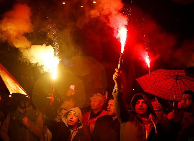 Διαδήλωση στη ΠΓΔΜ κατά της συμφωνίας των Πρεσπών (βίντεο)