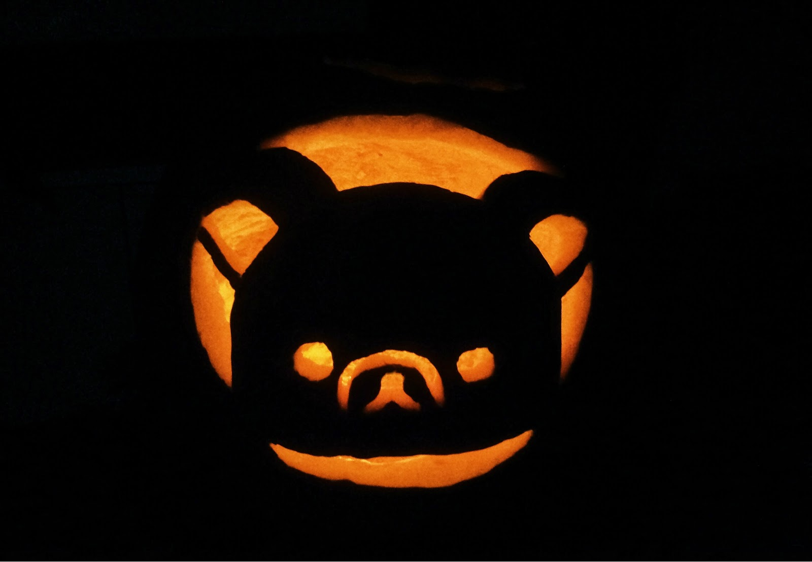 Rilakkuma Pumpkin 2014 The Kawaii Planet Florida Fashion Blogger