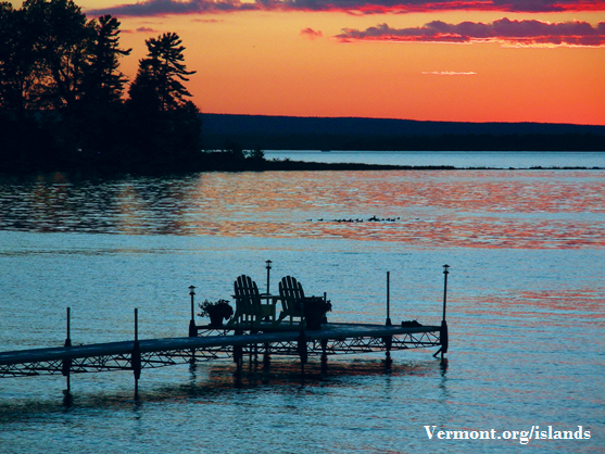 Pull up your lawn chairs...this may be the perfect place to watch a sunset! Photo credit: Vermont.org