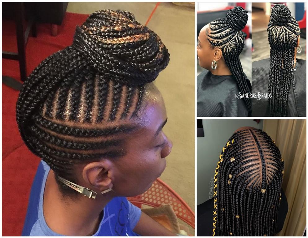 Black Braided Hairstyles 2018 ; SUPER CUTE braids - Zaineey\'s Blog