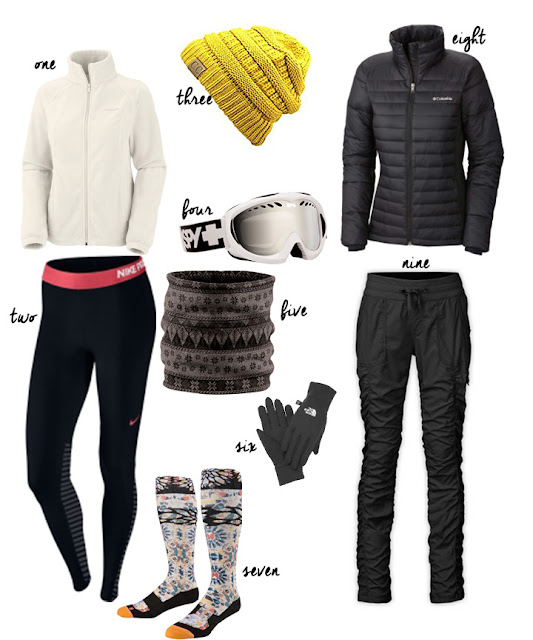 What to wearing skiing