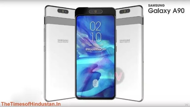 Samsung Galaxy A90 concept video and specs show up: Rotating 48MP camera, 6.7-inch display and more