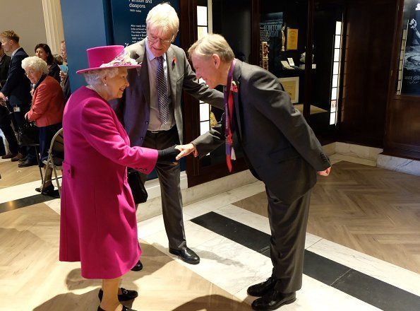 Queen Elizabeth attended the reopening of the Sir Joseph Hotung Gallery at the British Museum in London