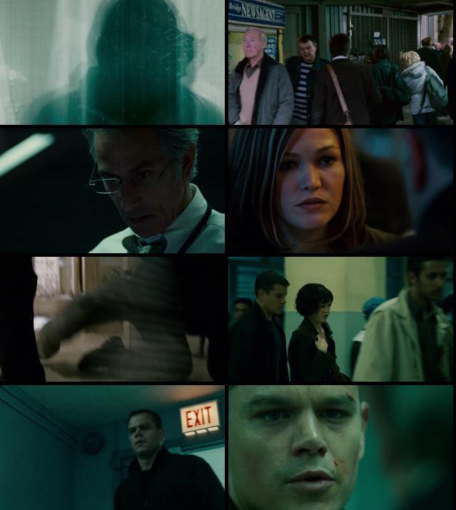 The Bourne Ultimatum 2007 Dual Audio Hindi 480 BRRip